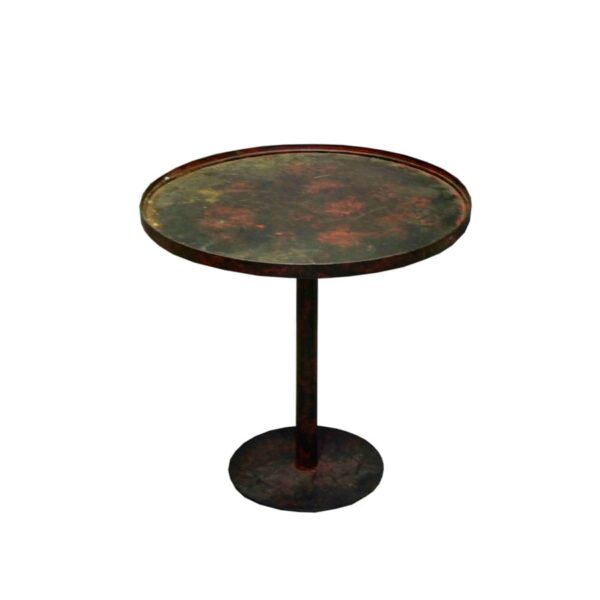 Mexican Iron Round Coffee Table-0