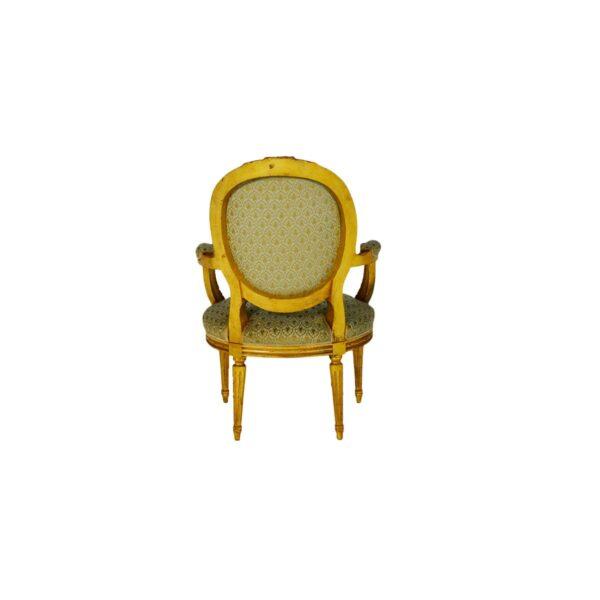 Ornate French Parlour Chair -18267