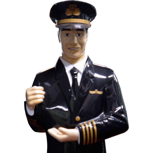 Aircraft Pilot Statue-18481