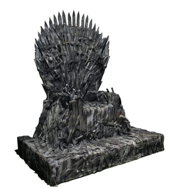 Throne 12 - Medieval Sword Throne -0