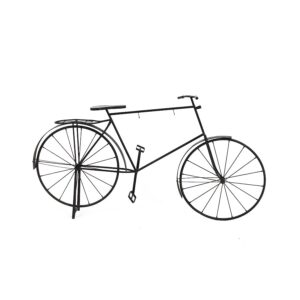 Large Black Metal Bicycle, for displays-0