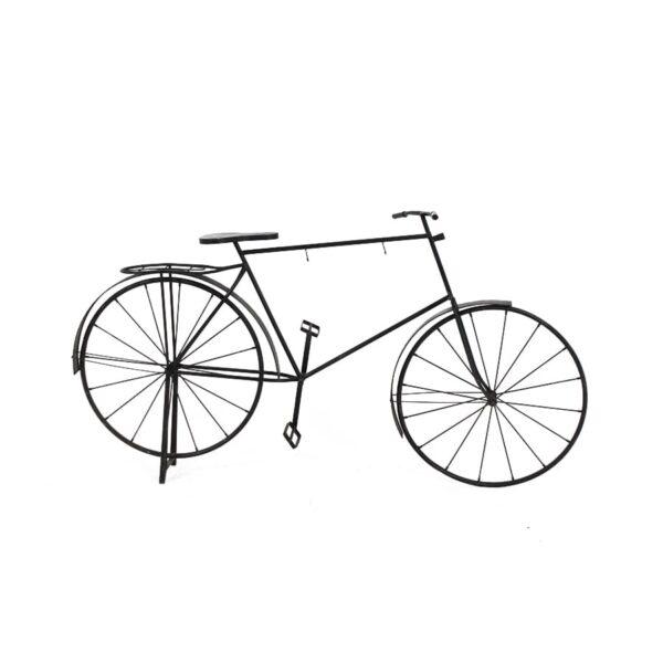 Large Black Metal Bicycle, for displays-0