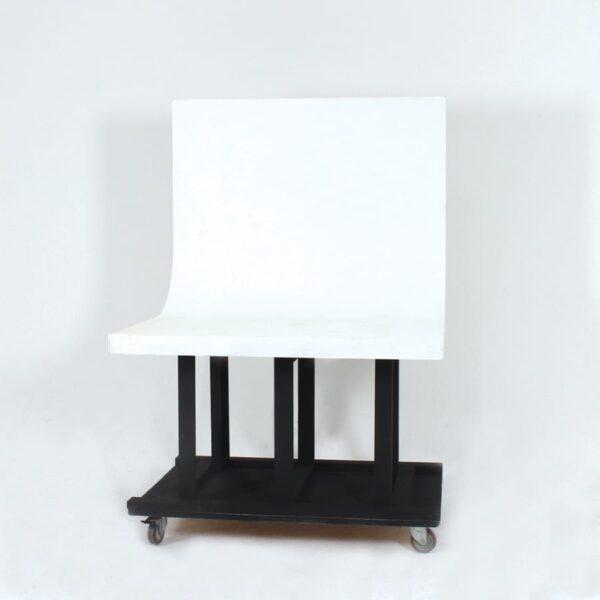 Mini White Cyclorama, on wheels-0