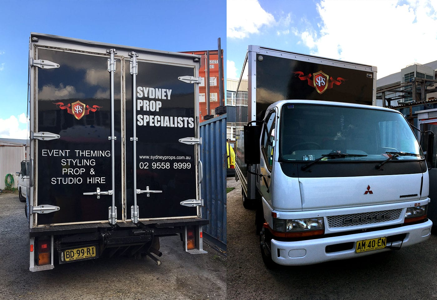 Sydney Props Truck and Van - Transportation Services