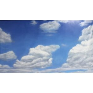 SKY WITH CLOUDS BACKDROP BD-0036-0