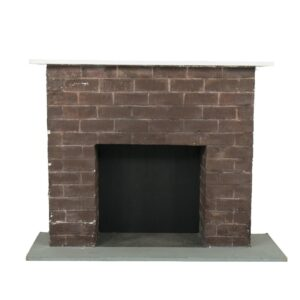 brick fireplace for hire - sydney props