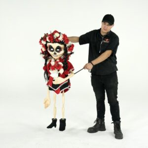 Mexican Day of the Dead Doll for hire - sydney props