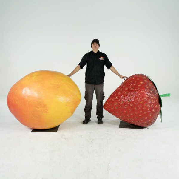 giant strawberry for hire - sydney props