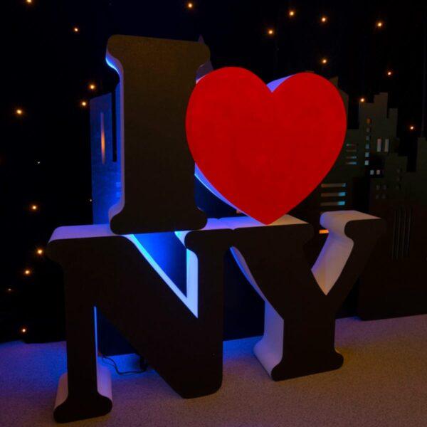 I HEART NY Giant Poly Letters-0