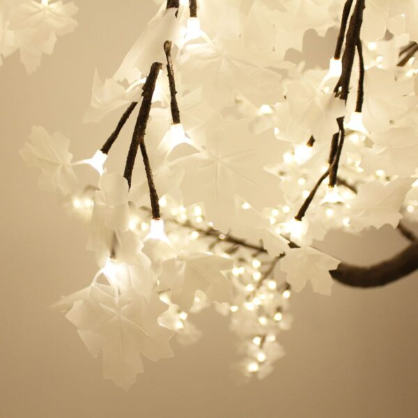 Illuminated White Tree - Sydney Prop Specialists HIRE
