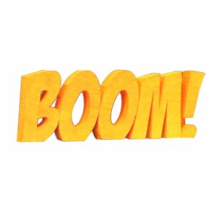 """""""BOOM!"""" Giant Sign-0"""