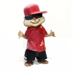 """Al"" Chipmunk in Red-0"