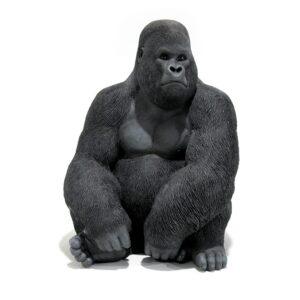 """Baby Kong"" Gorilla Statue, Sitting-0"