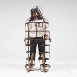 Caged Prisoner Mannequin-0
