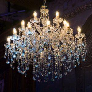 Crystal Chandelier, 18 lights-0