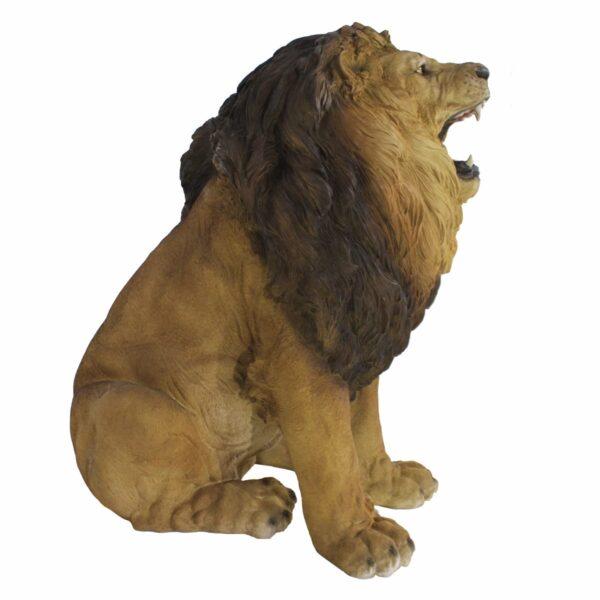 Sitting Lion Statue-19140