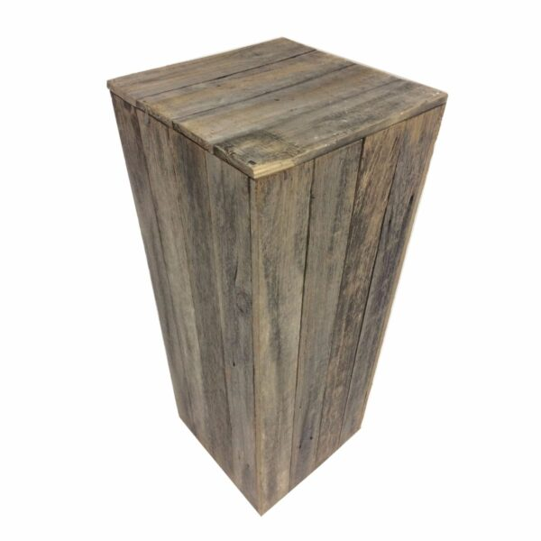Rustic Timber Plinth-0