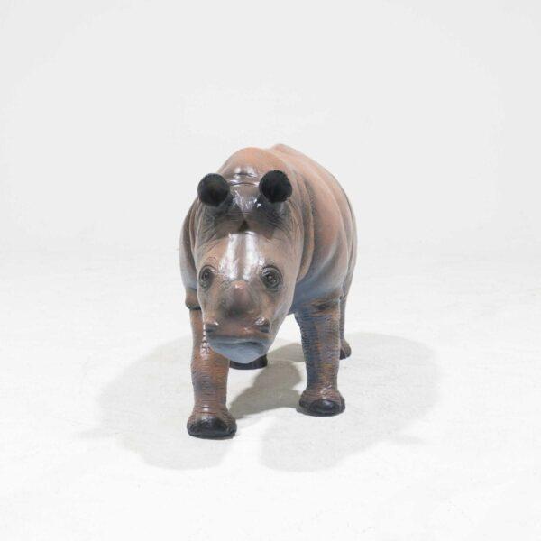 Life-Size Baby Rhinoceros Statue-19328