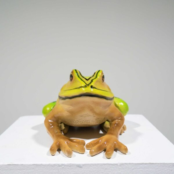 Life-Size Bell Frog Statue - Large-19374