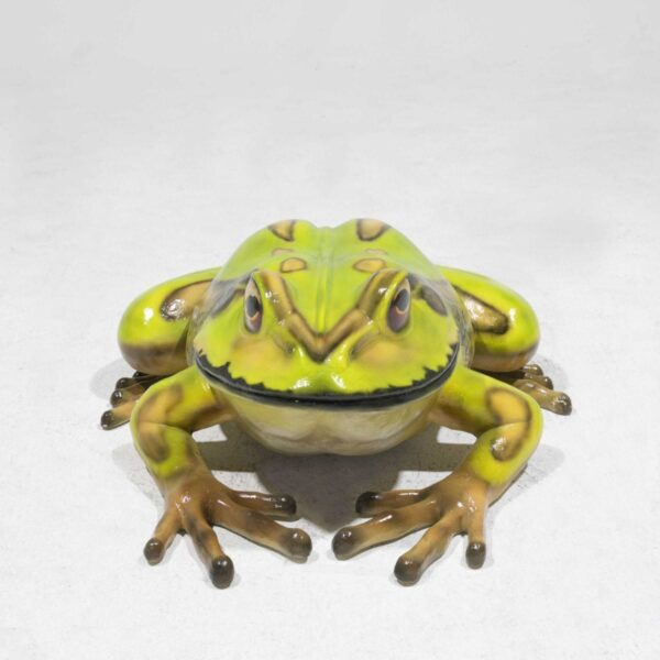 Life-Size Bell Frog Statue - Small-19413
