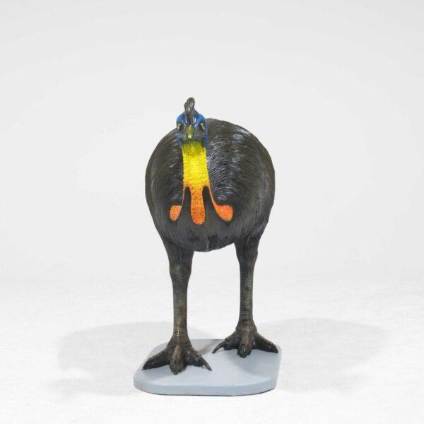 Life-Size Cassowary Bird Statue -19286