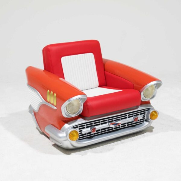 Chevrolet Car Seat - Single with Light-19462