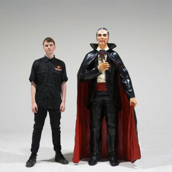 Life-Size Count Dracula Statue-19280