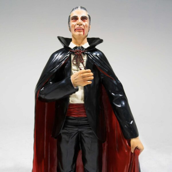 Life-Size Count Dracula Statue-19284