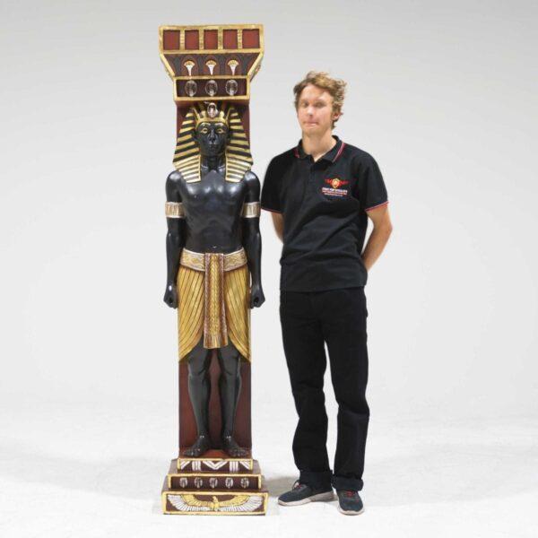 Male Egyptian Column-19273