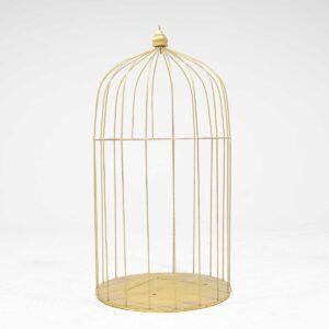 Giant Gold Birdcage-0