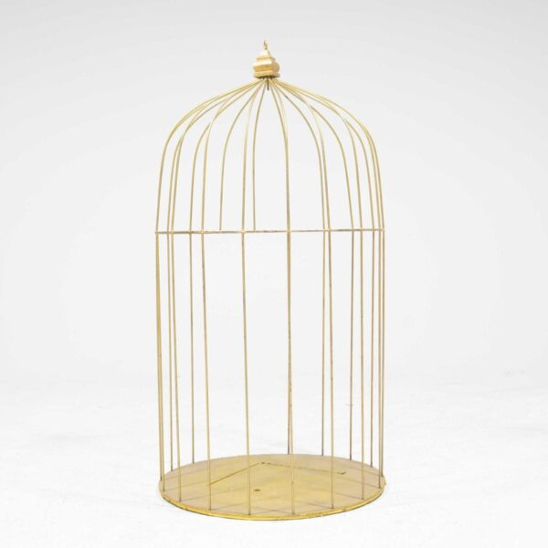 Giant Gold Birdcage-0