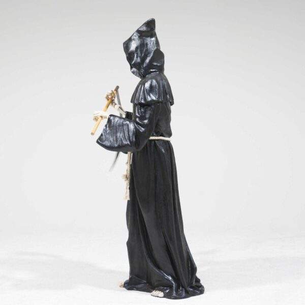 Life-Size Grim Reaper with Sickle Statue-19297