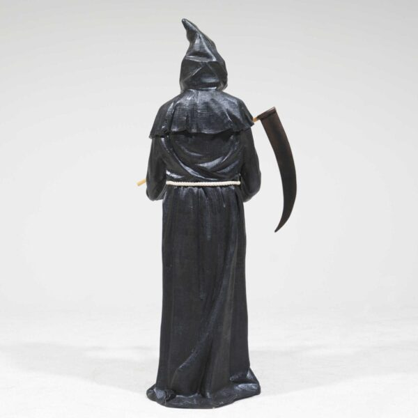 Life-Size Grim Reaper with Sickle Statue-19298