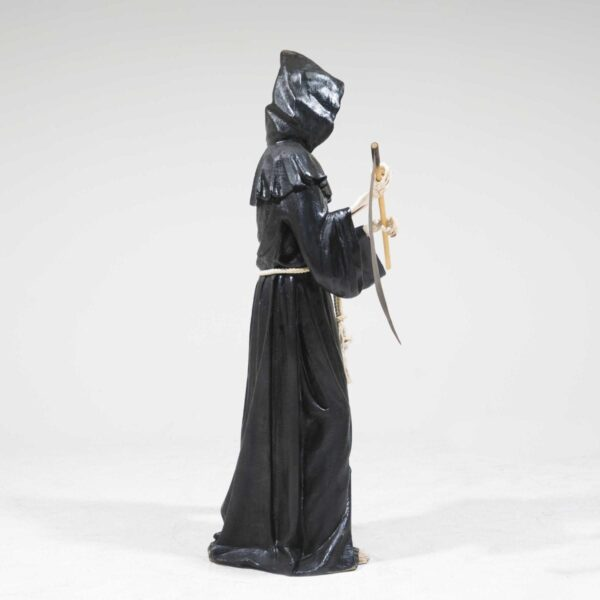 Life-Size Grim Reaper with Sickle Statue-19299
