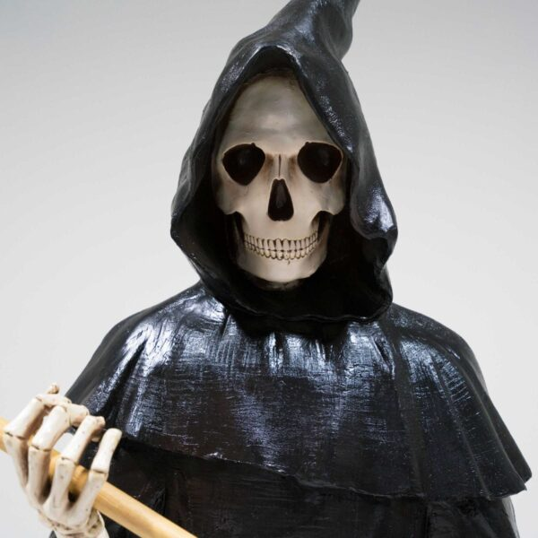 Life-Size Grim Reaper with Sickle Statue-19300