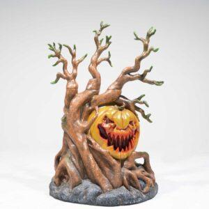 Halloween Pumpkin in Haunted Forest-0