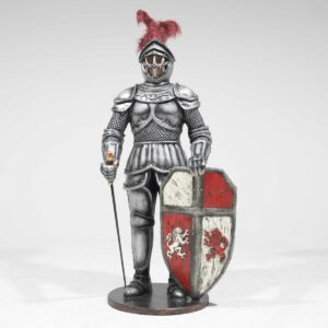 Life-Size Knight Statue -0