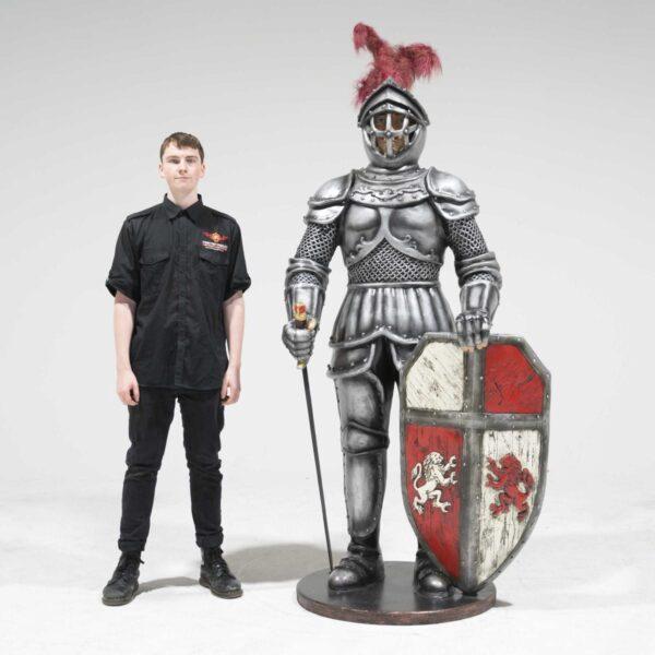 Life-Size Knight Statue -19260