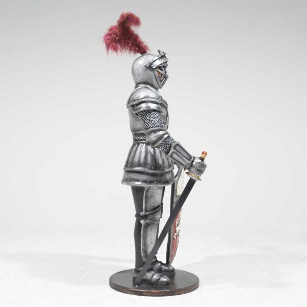 Life-Size Knight Statue -19263