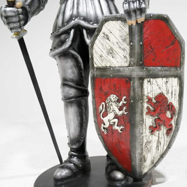 Life-Size Knight Statue -19266