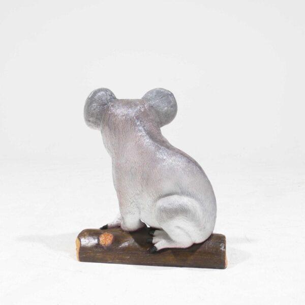 Life-Size Koala Bear Statue on branch-19338