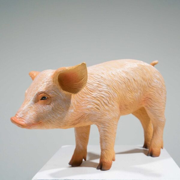 Life-Size Piglet Statue-0
