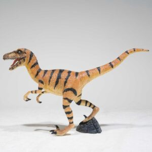 Velociraptor Dinosaur Statue-0
