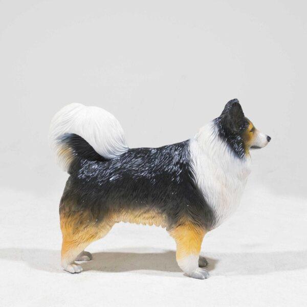 Life-Size Australian Shepherd Dog Statue-0
