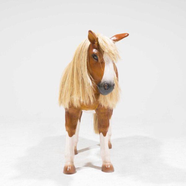 Life-Size Shetland Pony Statue-19323