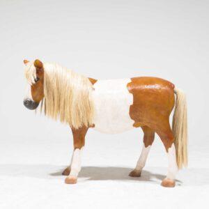 Life-Size Shetland Pony Statue-0