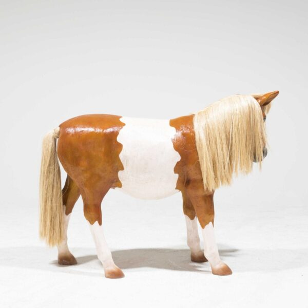 Life-Size Shetland Pony Statue-19325
