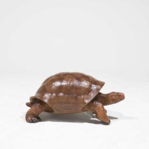 Life-Size Brown Turtle Statue-0