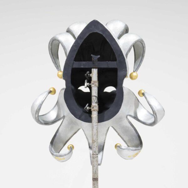 Venetian Masquerade Mask - Silver-19432