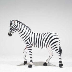Life-Size Zebra Fibreglass-0